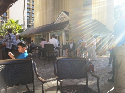 IX Reach: At the Tapa Bar in the Hilton Hawaiian Village
