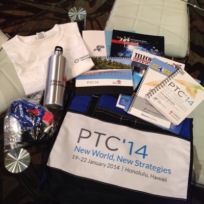 IX Reach: PTC delegates bag
