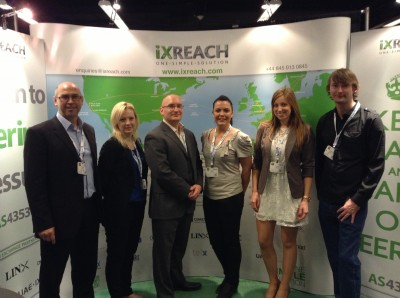 (L-R: The IX Reach ITW Team – John Hill, Rebecca Stani?, Ben Nicklin, Ruth Plater, Elaine Dixon and Steve Wilcox)