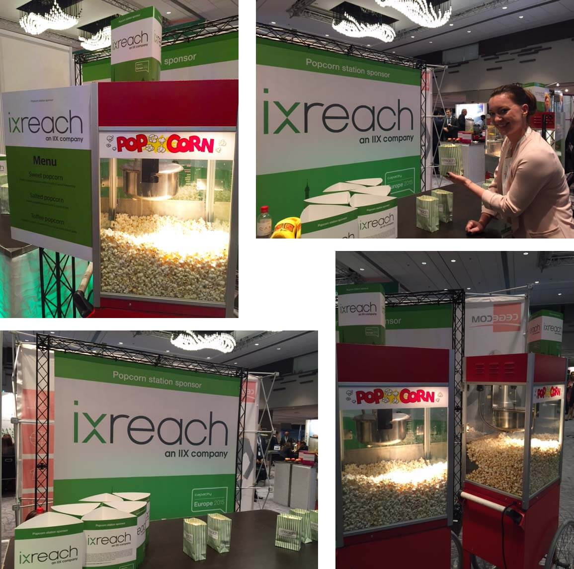 IX Reach popcorn stand